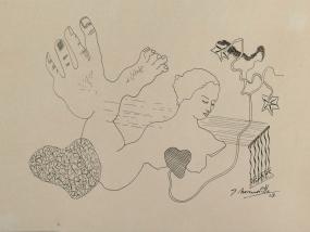 Composición Surrealista | JOSÉ MORENO VILLA