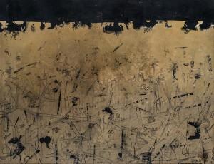 Luis Gordillo, Sin título, tinta china sobre cartulina, año 1959