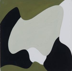 Equipo 57, Composición, gouache sobre papel, 28x28 cm, año 1957