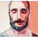 Julián joven, 22 x 27 cm, óleo sobre lienzo