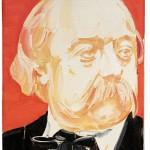 Gustave Flaubert (2), 24 x 19 cm, óleo sobre lienzo