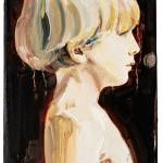 Predestinación. Julián niño 27 x 19 cm. óleo sobre lienzo