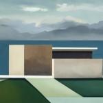 Horizontal, óleo sobre lienzo, 60 x 81 cm