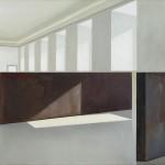 Perspectiva II, óleo sobre lienzo, 73 x 116 cm