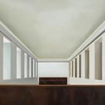 Perspectiva I, óleo sobre lienzo, 73 x 116 cm