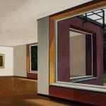 Interior, óleo sobre lienzo, 90 x 116 cm