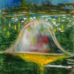 El acaecimiento, óleo sobre lienzo, 55x46cm