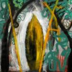 La flama, óleo sobre lienzo, 55x46cm