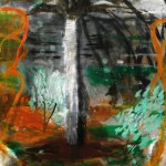 Un tipo de palmera, óleo sobre lienzo, 55x46cm