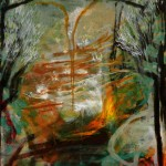 Sitio de Dios, óleo sobre lienzo, 55x46cm