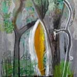 Sin título, óleo sobre lienzo,146x114 cm