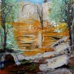 Sin título, óleo sobre lienzo, 146x114 cm