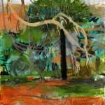 Pino, óleo sobre lienzo, 55x46cm