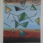 Rebel music, óleo sobre tela, 40 x 37 cm