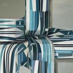 S/T (sobre módulos II), óleo sobre tela, 146 x 195 cm